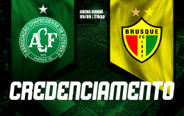 Credenciamento para Chapecoense x Brusque - Final Catarinense 2020